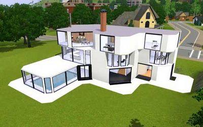 Как сделать свой дом в симс 3 39